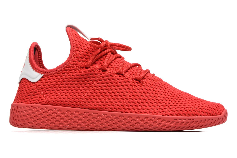 Baskets Adidas Originals Pharrell Williams Tennis Hu Rouge vue derrière