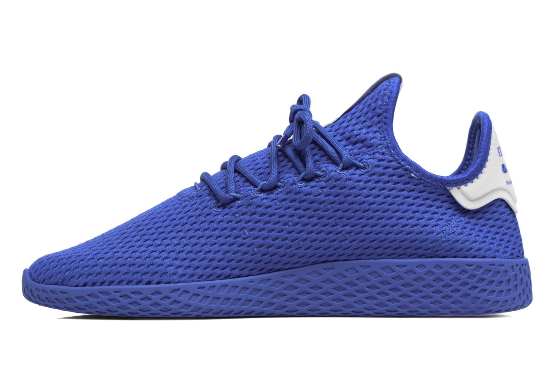 Sneaker Adidas Originals Pharrell Williams Tennis Hu blau ansicht von vorne