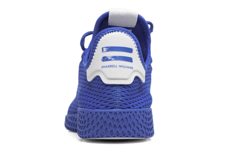 Sneaker Adidas Originals Pharrell Williams Tennis Hu blau ansicht von rechts