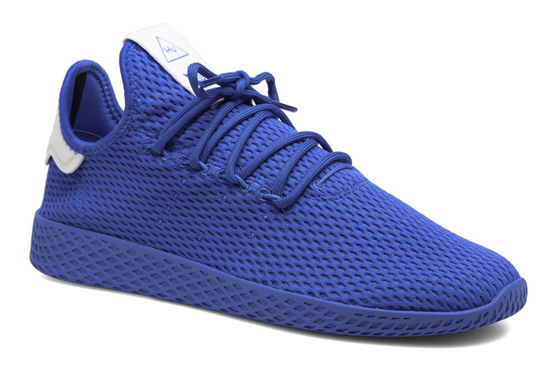 Sneakers Adidas Originals Pharrell Williams Tennis Hu Blauw detail