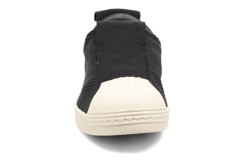 Deportivas Adidas Originals Superstar Bw3S Slipon W Negro vista del modelo
