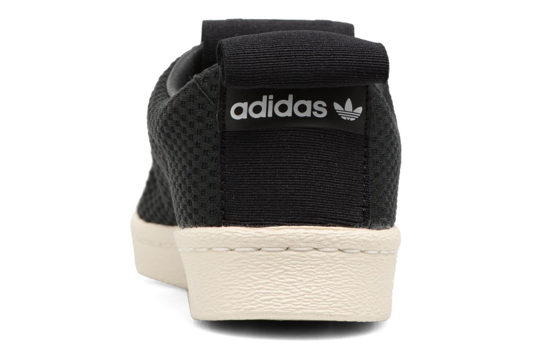 Baskets Adidas Originals Superstar Bw3S Slipon W Noir vue droite