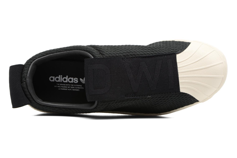 Baskets Adidas Originals Superstar Bw3S Slipon W Noir vue gauche
