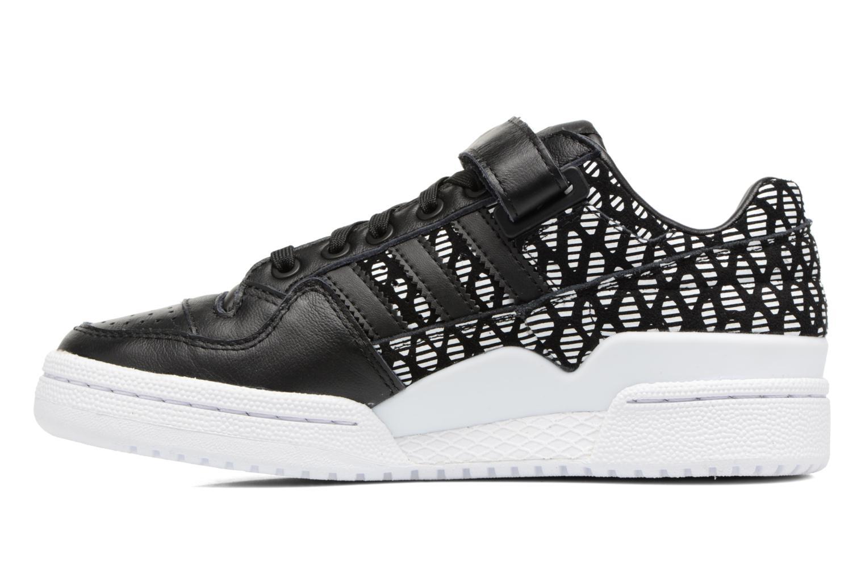 Baskets Adidas Originals Forum Lo W Noir vue face