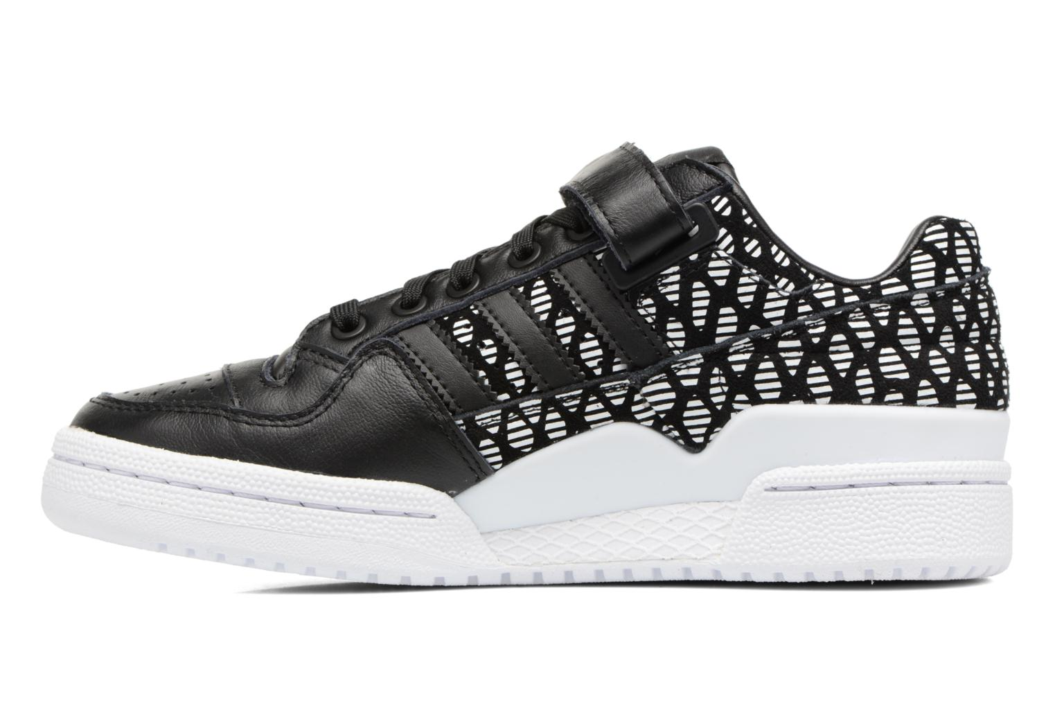 Baskets Adidas Originals Forum Lo W Noir vue face