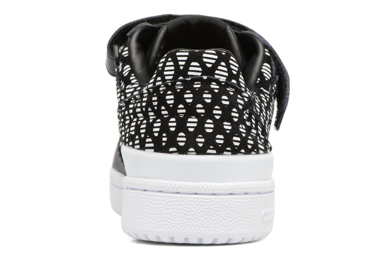 Baskets Adidas Originals Forum Lo W Noir vue droite