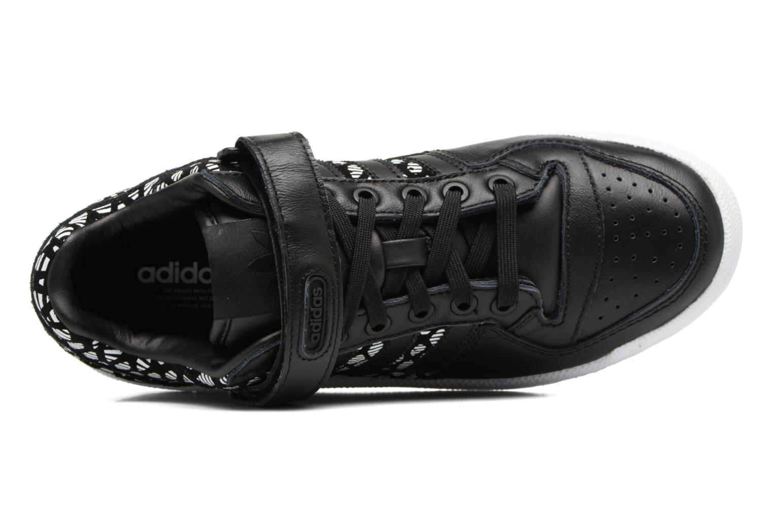 Baskets Adidas Originals Forum Lo W Noir vue gauche