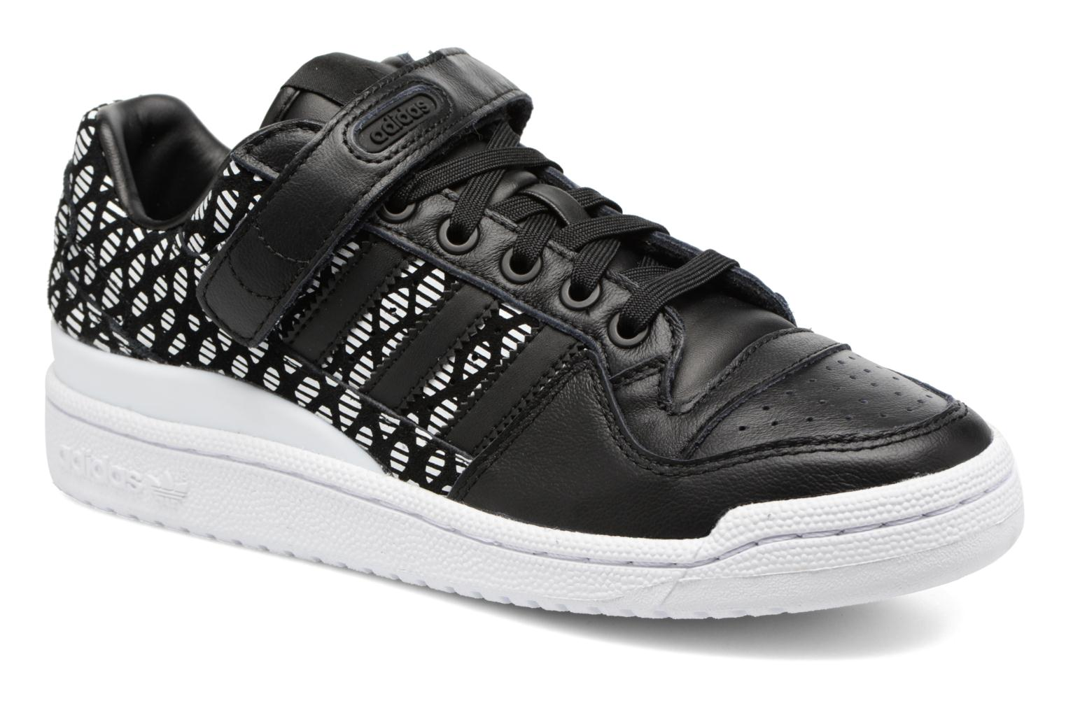 Baskets Adidas Originals Forum Lo W Noir vue détail/paire