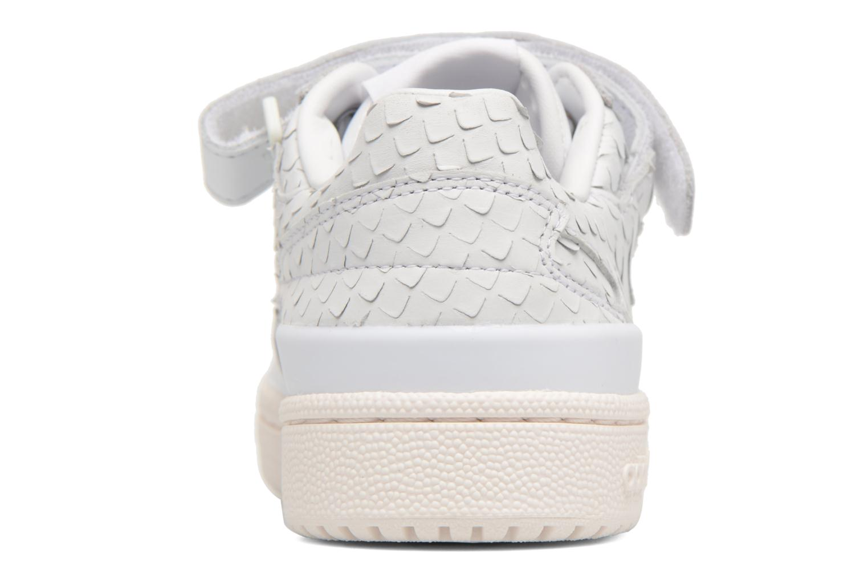 Baskets Adidas Originals Forum Lo W Blanc vue droite