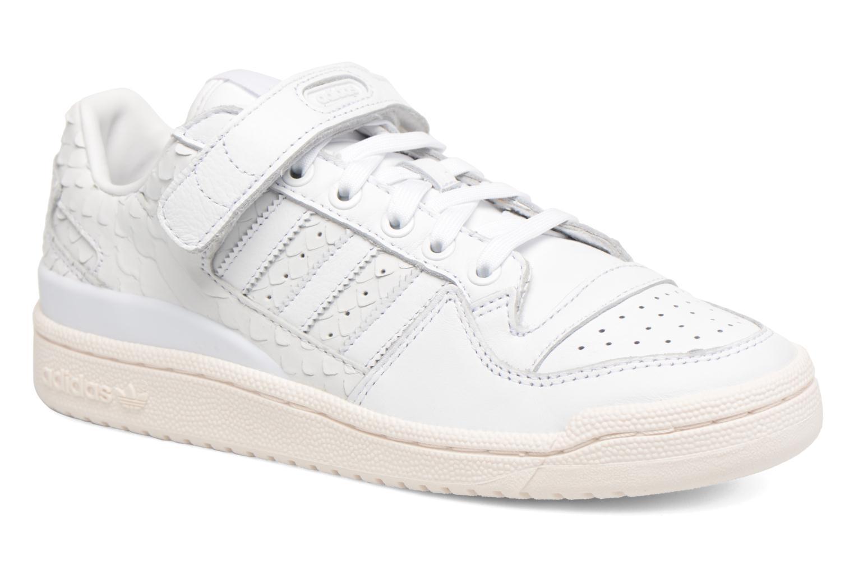 Baskets Adidas Originals Forum Lo W Blanc vue détail/paire
