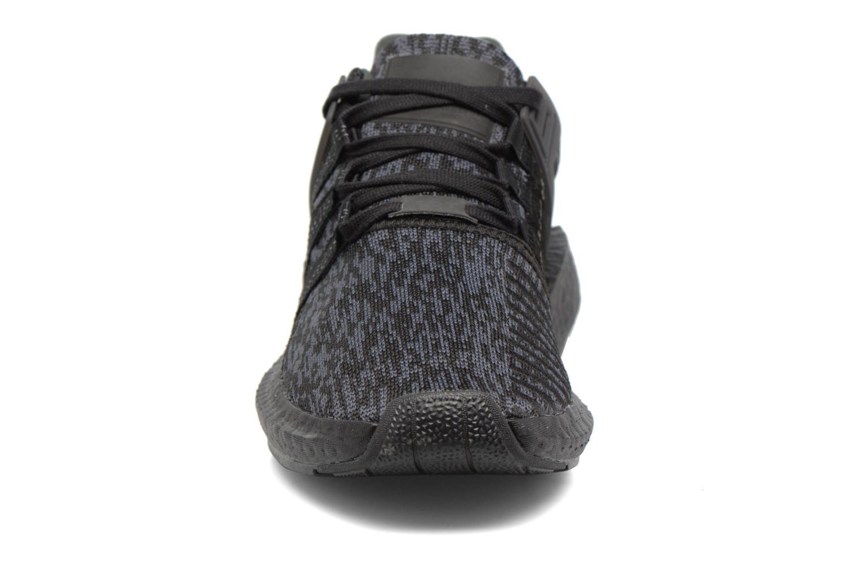 Baskets Adidas Originals Eqt Support 93/17 Noir vue portées chaussures