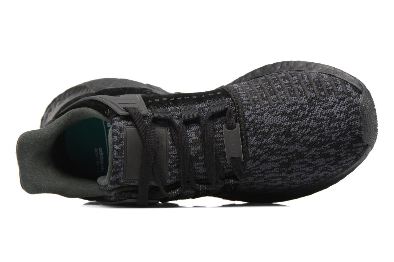 Baskets Adidas Originals Eqt Support 93/17 Noir vue gauche