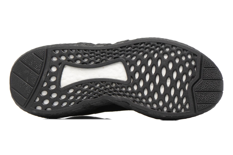 Baskets Adidas Originals Eqt Support 93/17 Noir vue haut