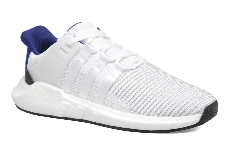 Baskets Adidas Originals Eqt Support 93/17 Blanc vue détail/paire