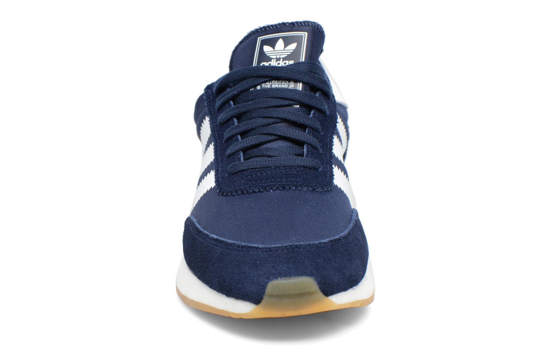 Sneaker Adidas Originals Iniki Runner M blau schuhe getragen