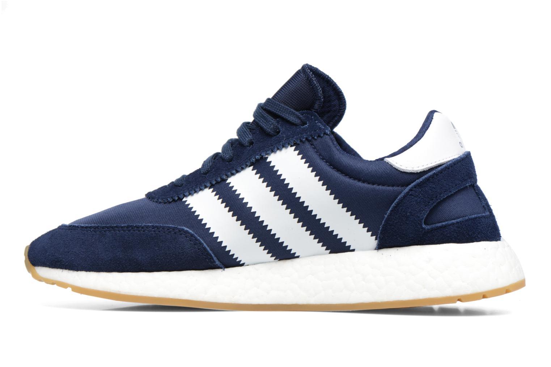 Sneaker Adidas Originals Iniki Runner M blau ansicht von vorne