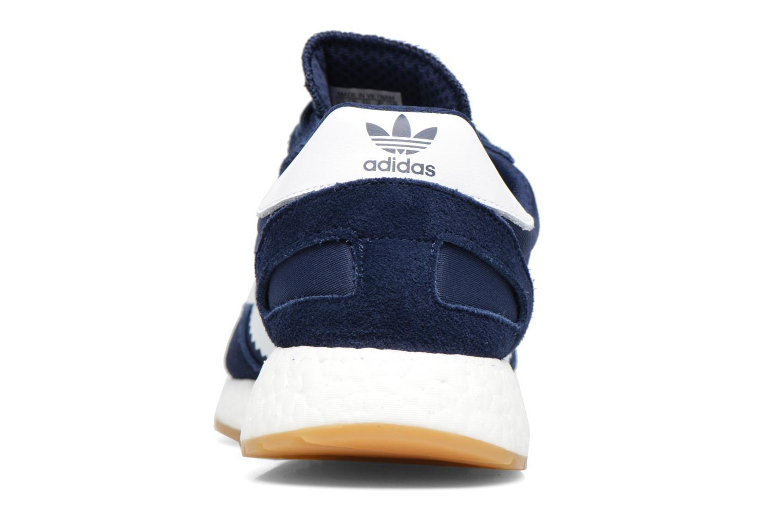 Sneaker Adidas Originals Iniki Runner M blau ansicht von rechts