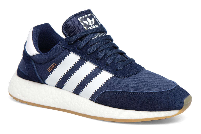 Sneaker Adidas Originals Iniki Runner M blau detaillierte ansicht/modell