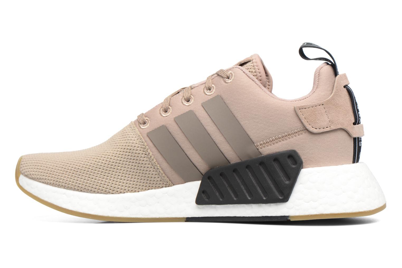 Sneakers Adidas Originals Nmd_R2 Beige immagine frontale