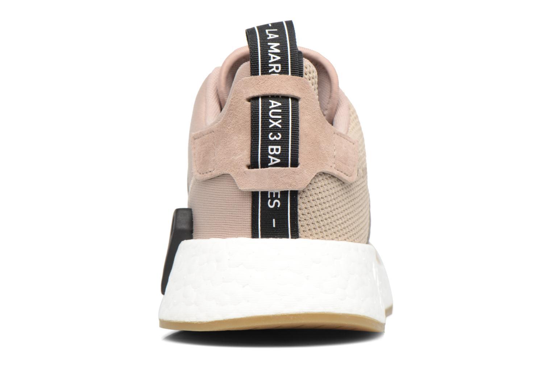 Sneakers Adidas Originals Nmd_R2 Beige immagine destra