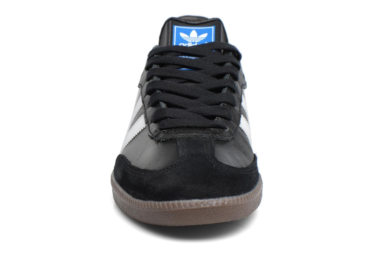Sneaker Adidas Originals Samba Og schwarz schuhe getragen