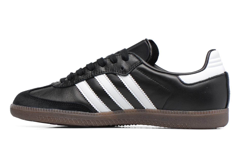 Sneaker Adidas Originals Samba Og schwarz ansicht von vorne