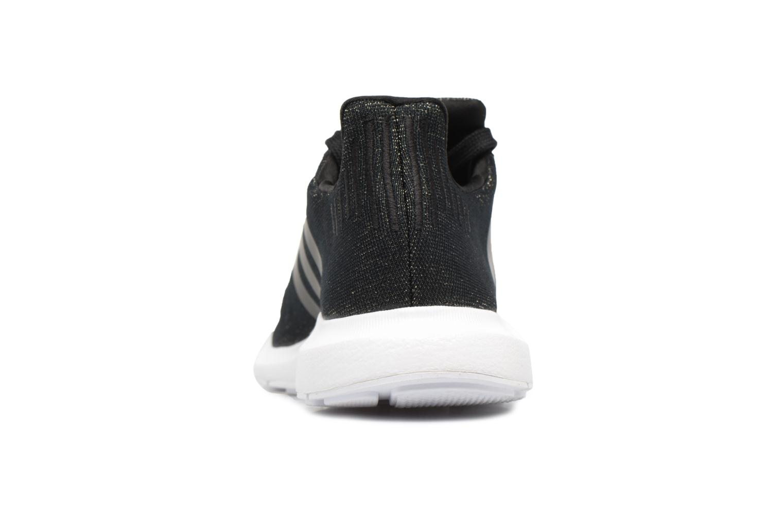 Baskets Adidas Originals Swift Run W Noir vue derrière