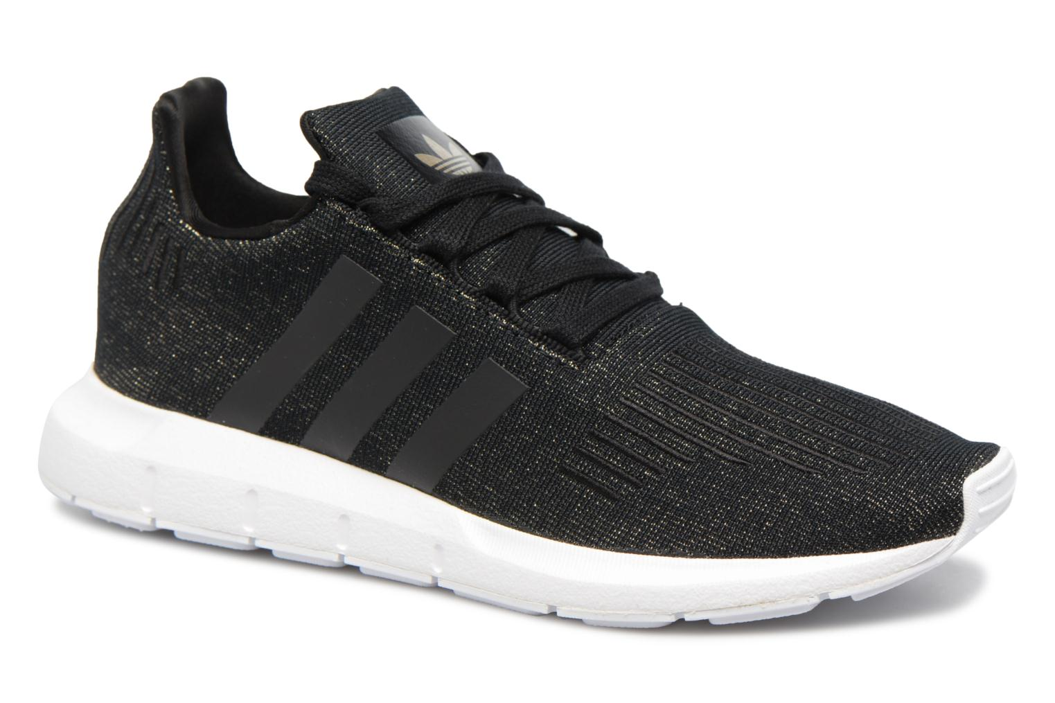 Baskets Adidas Originals Swift Run W Noir vue détail/paire