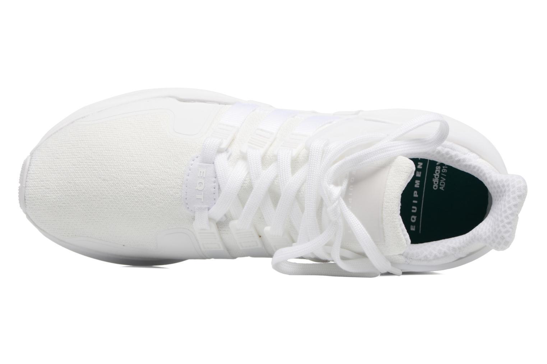 Baskets Adidas Originals Eqt Support Adv2 Blanc vue gauche