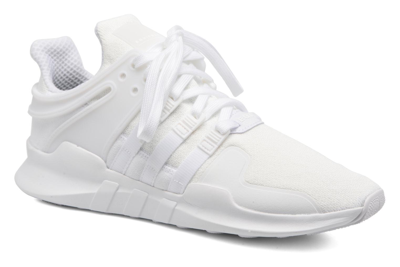 Baskets Adidas Originals Eqt Support Adv2 Blanc vue détail/paire