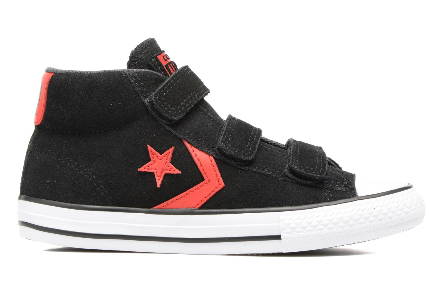Baskets Converse Star Player EV V Star Player Suede Mid Noir vue derrière