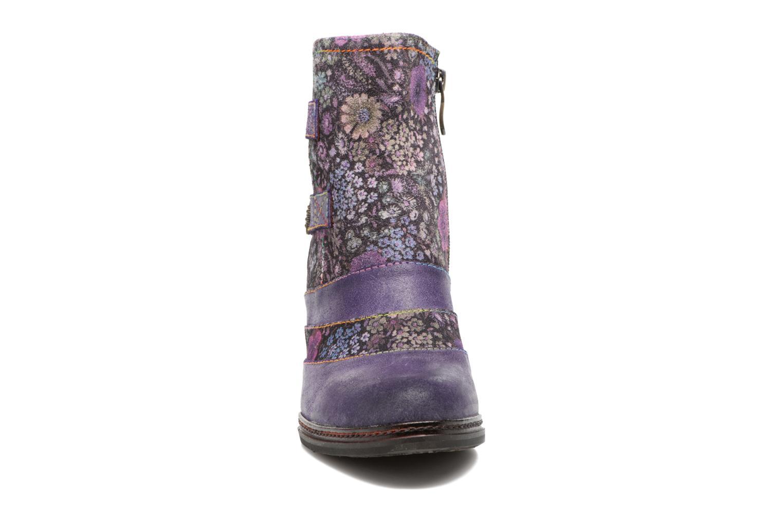 Bottines et boots Laura Vita Alizee 03 Violet vue portées chaussures