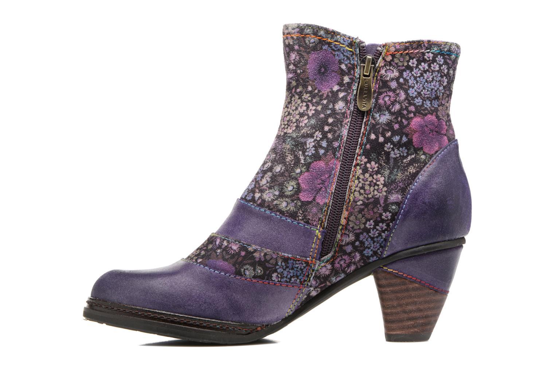 Bottines et boots Laura Vita Alizee 03 Violet vue face
