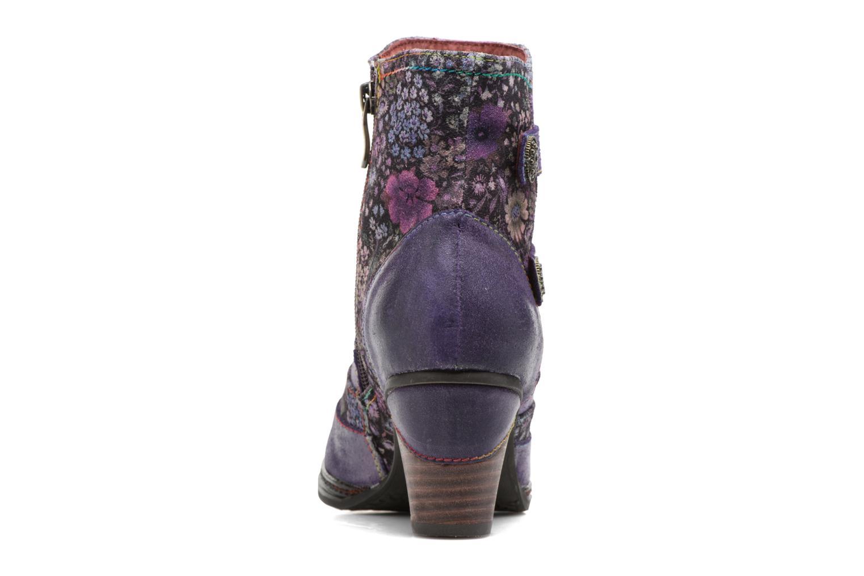Bottines et boots Laura Vita Alizee 03 Violet vue droite