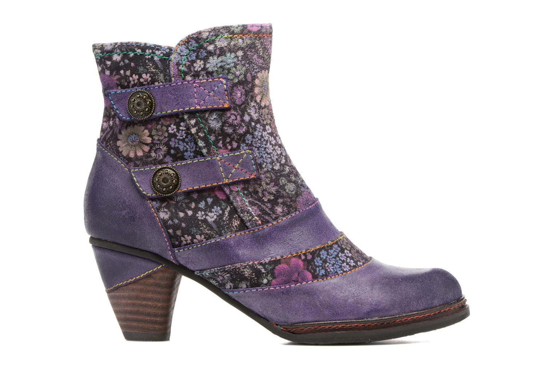Bottines et boots Laura Vita Alizee 03 Violet vue derrière