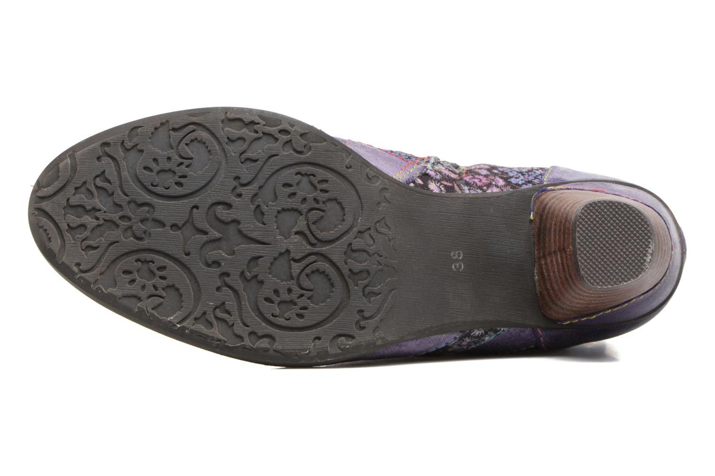 Bottines et boots Laura Vita Alizee 03 Violet vue haut