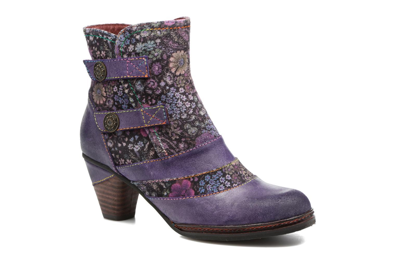 Bottines et boots Laura Vita Alizee 03 Violet vue détail/paire
