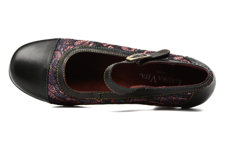 Zapatos de tacón Laura Vita Candice 13 Negro vista lateral izquierda