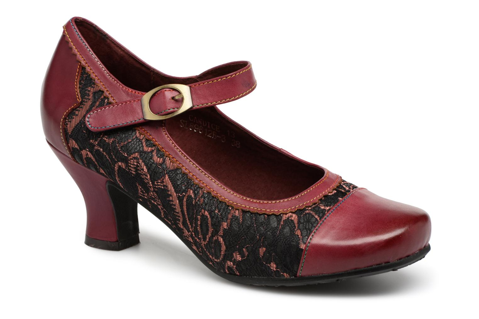 Pumps Laura Vita Candice 13 Rood detail