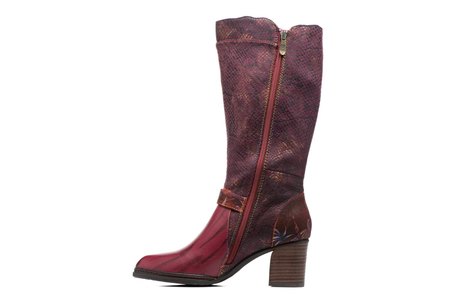 Boots & wellies Laura Vita Celia 02 Burgundy front view