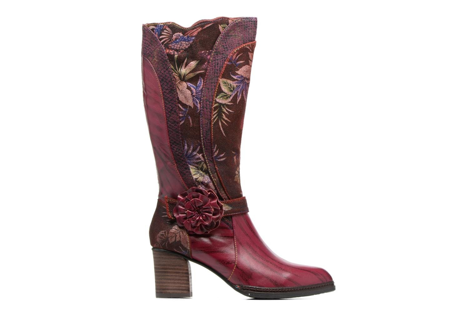 Boots & wellies Laura Vita Celia 02 Burgundy back view