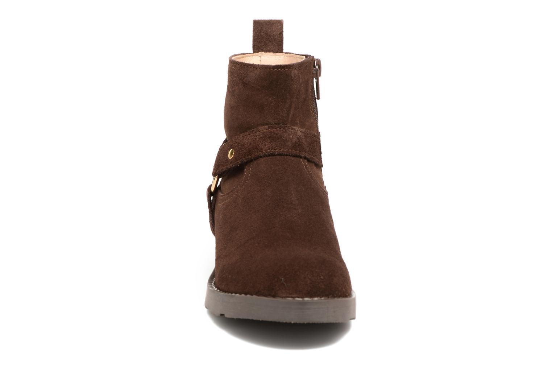 Bottines et boots Yep Patricia Marron vue portées chaussures