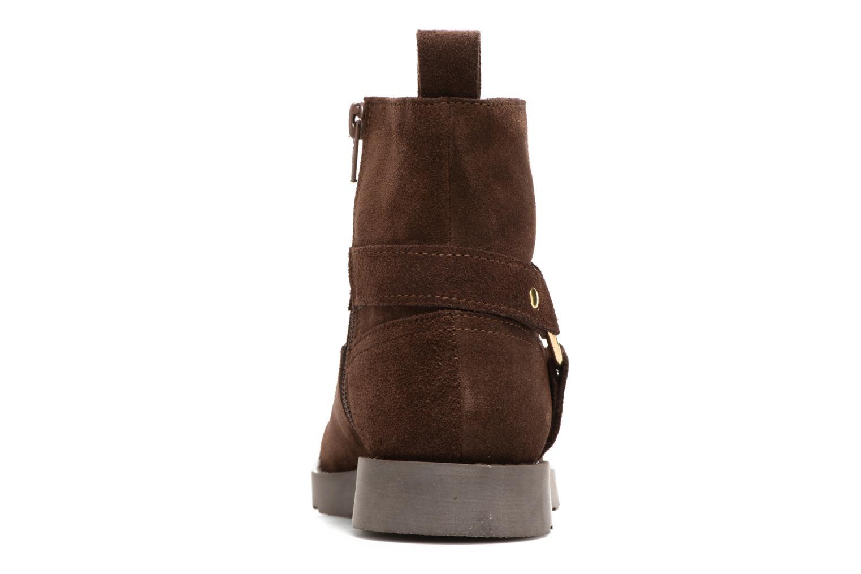 Bottines et boots Yep Patricia Marron vue droite