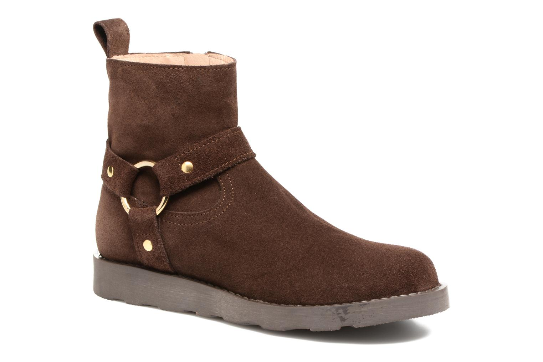 Bottines et boots Yep Patricia Marron vue détail/paire