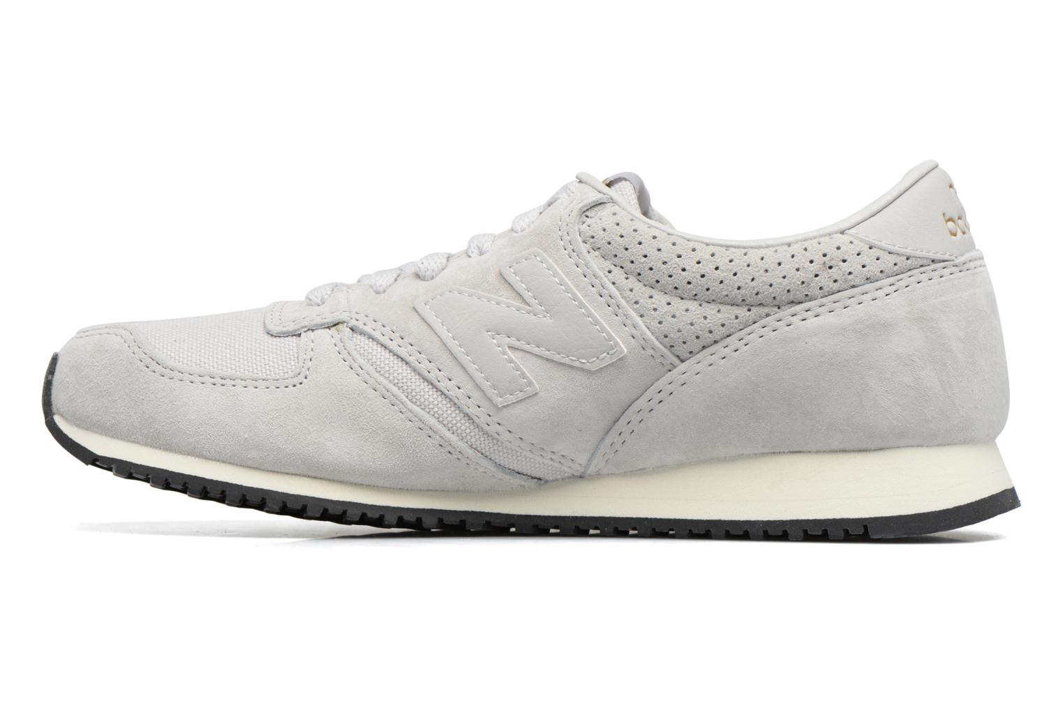 Trainers New Balance U420 D W Grey front view