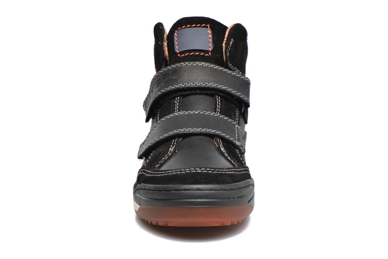 Baskets Primigi Ciro Noir vue portées chaussures