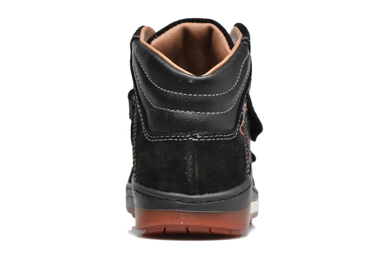 Baskets Primigi Ciro Noir vue droite
