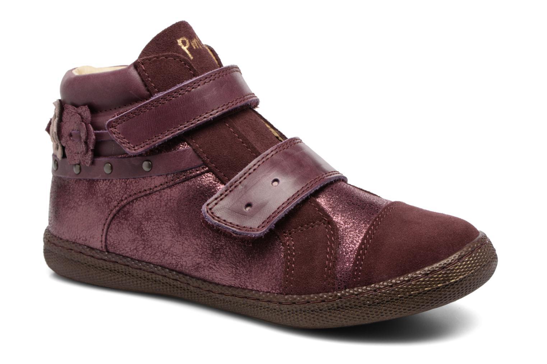 Bottines et boots Primigi Gaia Bordeaux vue détail/paire