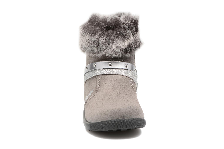 Bottes Primigi Angelica Gris vue portées chaussures