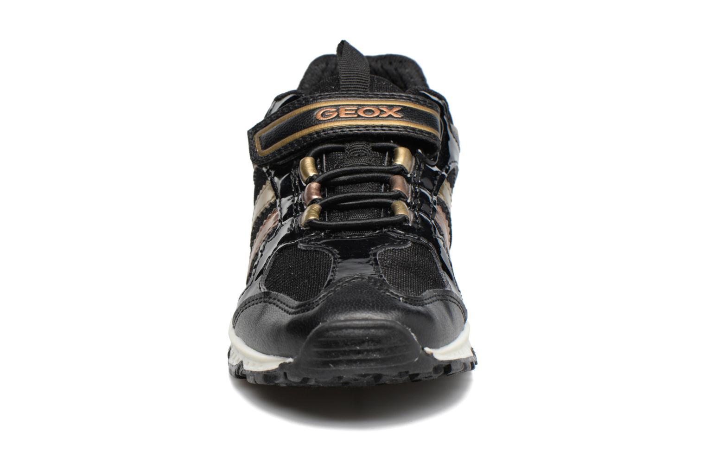 Baskets Geox J Bernie G. D  J7411D Noir vue portées chaussures